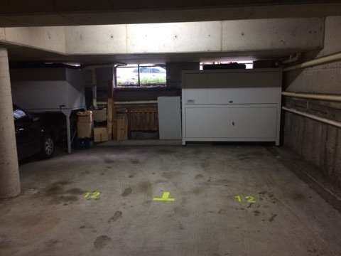 Indoor lot parking on Dangar Place in Chippendale New South Wales
