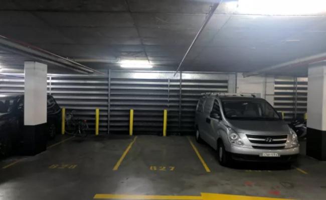 Undercover parking on Danks St in Waterloo NSW 2017