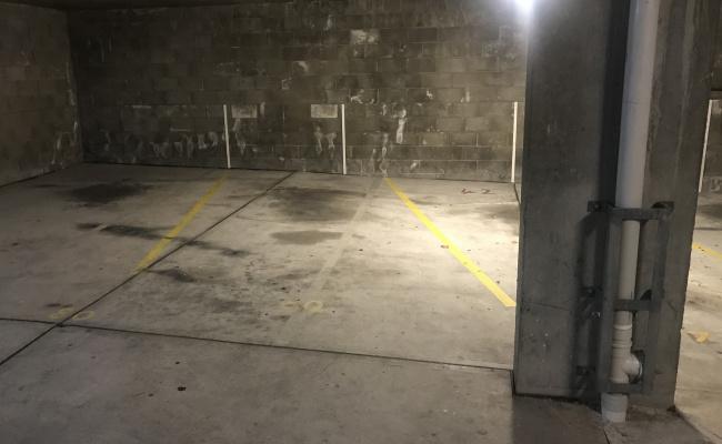 Indoor lot parking on Darley Street in Darlinghurst