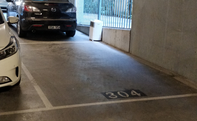 Undercover parking on Darling Street in South Yarra VIC