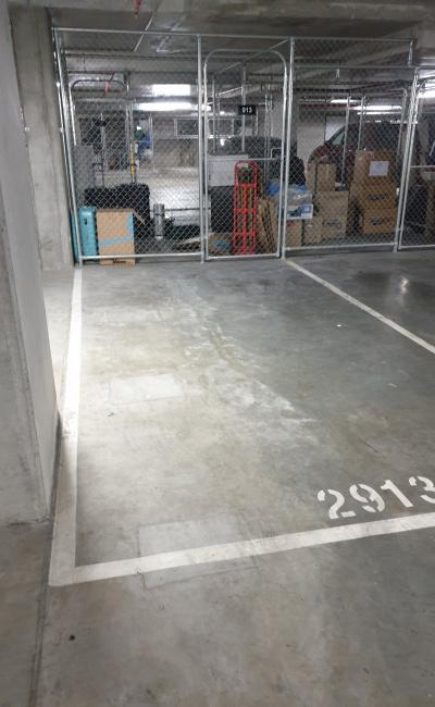 Indoor lot parking on David Street in Richmond Victoria