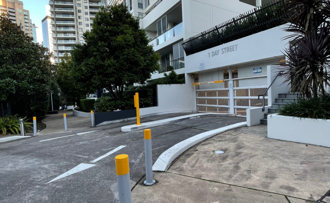 Indoor parking space in 1 Day street, Chatswood (2 mins walk from Chatswood train station)