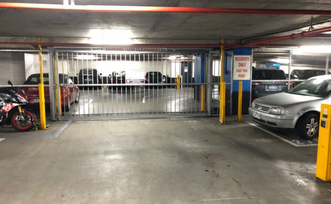 Indoor lot parking on Doepel Way in Docklands Victoria