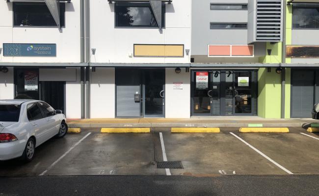 Outdoor lot parking on Doggett Street in Newstead QLD