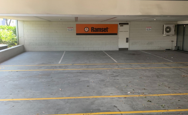 Indoor lot parking on Doggett Street in Newstead