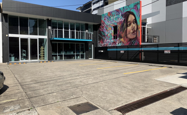 Outdoor lot parking on Doggett Street in Newstead Queensland