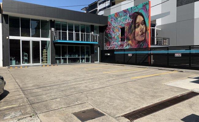 Outdoor lot parking on Doggett Street in Newstead Queensland