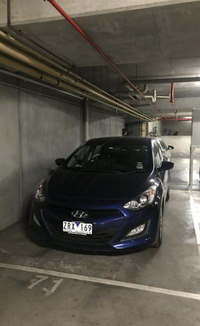 Indoor lot parking on Dorcas Street in South Melbourne Victoria 3205
