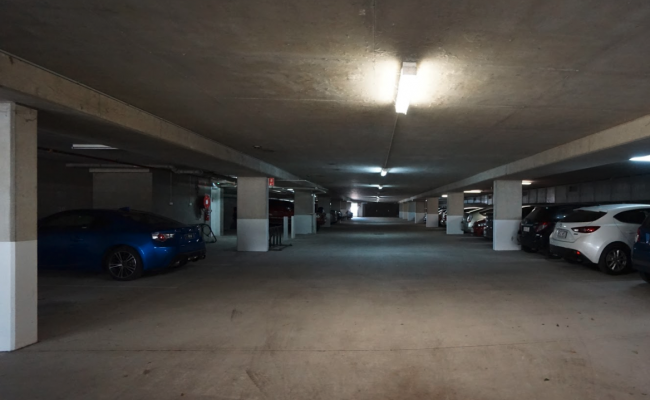 Indoor lot parking on Douglas Street in Milton Queensland