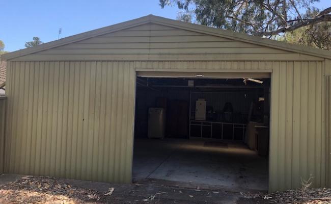 Lock up garage parking on Dovell Street in Bedford Park South Australia