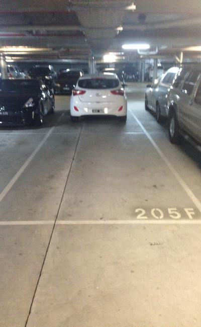 Undercover parking on Dow Street in Port Melbourne Victoria 3207