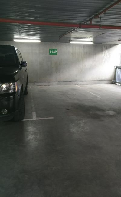 Indoor lot parking on Downie Street in Melbourne