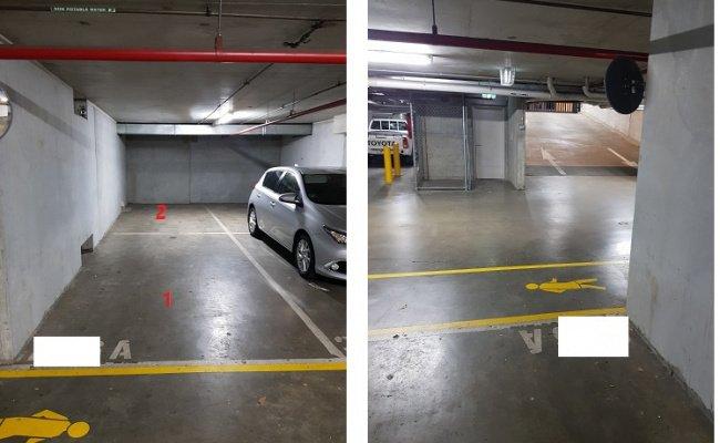 Indoor lot parking on Dudley Street in West Melbourne Victoria 3003