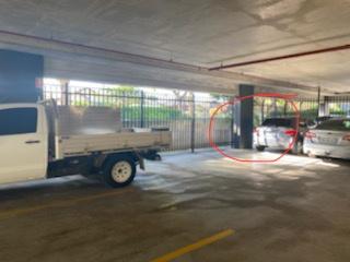 Secure undercover car space in Rosebery