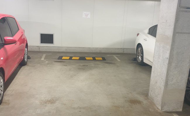 Lock up garage parking on Ebsworth Street in Zetland New South Wales