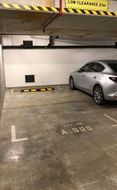 Indoor lot parking on Ebsworth Street in Zetland New South Wales