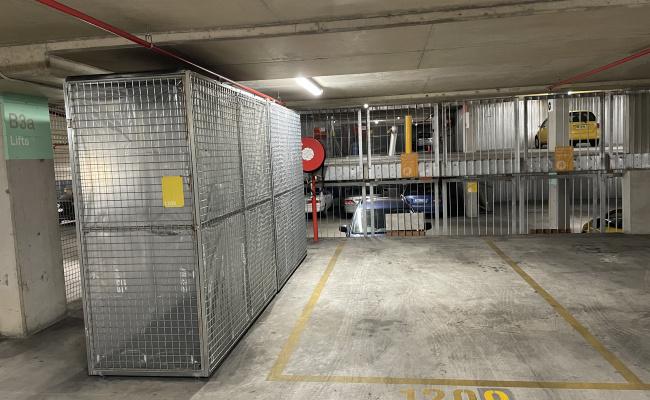 Underground space in Nishi Building