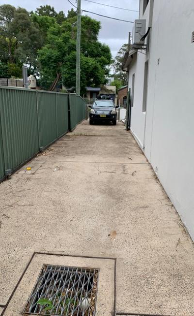 Driveway parking on Edith Street in Leichhardt New South Wales