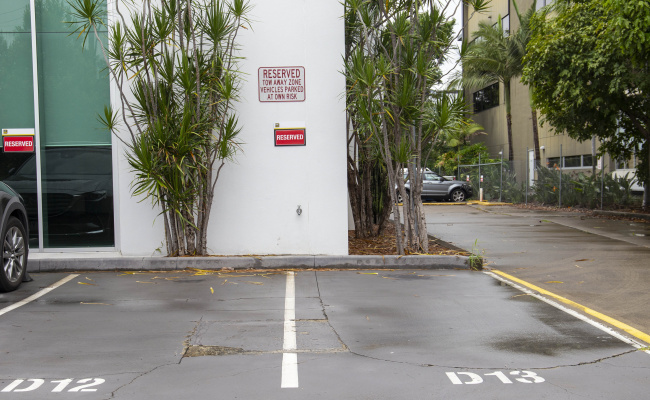Outdoor lot parking on Edmondstone Road in Bowen Hills