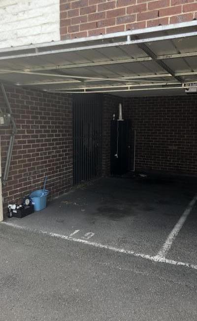 Lock up garage parking on Egan Street in Richmond VIC