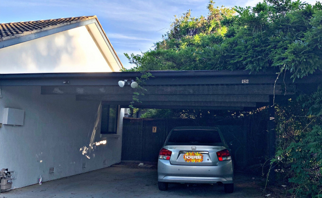 Carport parking on Eggleston Crescent in Chifley ACT