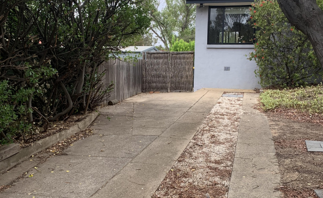 Driveway parking on Eggleston Crescent in Chifley