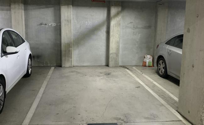 Indoor lot parking on Elgin Street in Carlton Victoria
