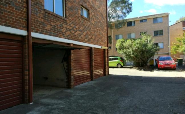 Undercover parking on Elizabeth St in Parramatta NSW 2150