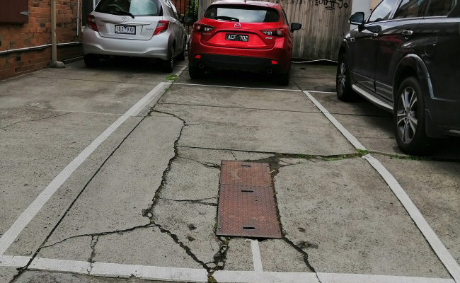 Outdoor lot parking on Elizabeth St in Richmond VIC 3121