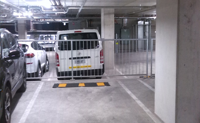 Adelaide - Secured Indoor Parking in CBD