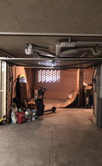 Lock up garage parking on Exeter Road in Homebush West New South Wales