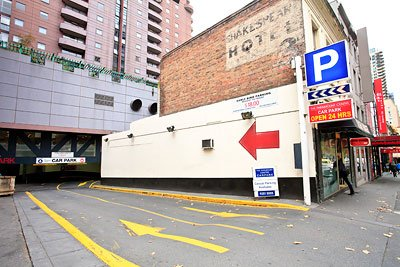 Secure underground parking east side CBD