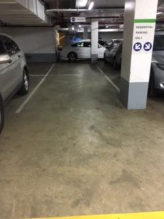 Undercover parking on Flinders Lane in Melbourne