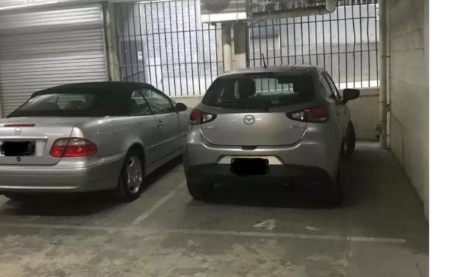Undercover parking on Flinders Lane in Melbourne Victoria