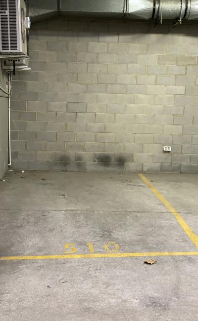 Secure undercover car parking.