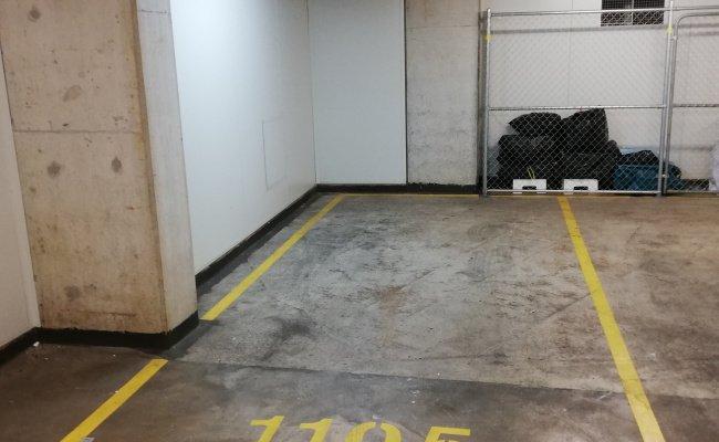 Indoor lot parking on Gadigal Ave in Zetland NSW