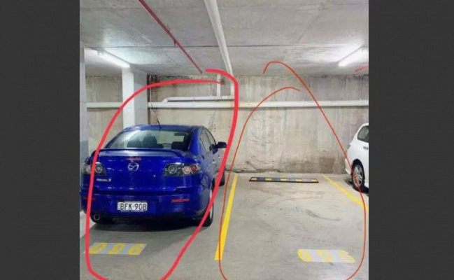 Indoor lot parking on Gadigal Avenue in Waterloo New South Wales 2017