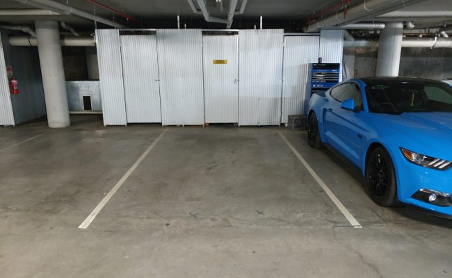 Indoor lot parking on Gadigal Avenue in Zetland NSW