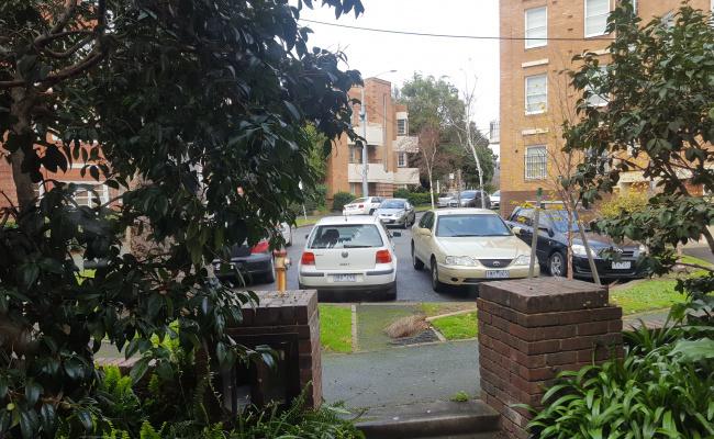 Outdoor lot parking on Garden Avenue in East Melbourne Victoria