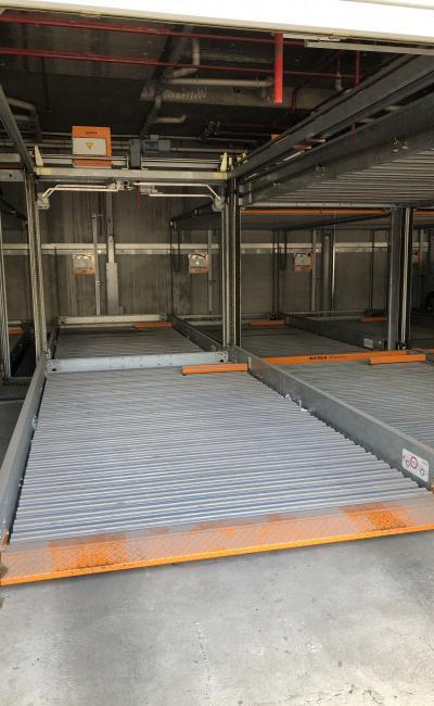Lock up garage parking on Garden Lane in South Yarra