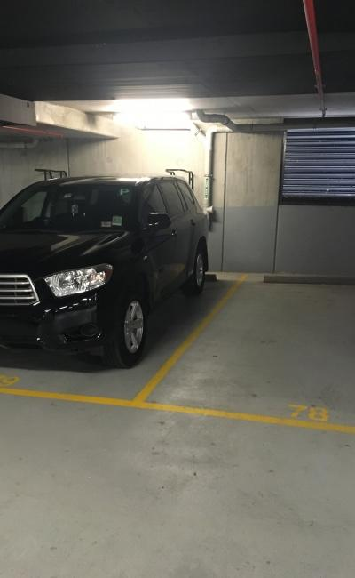 Indoor lot parking on Geographe Street in Docklands VIC