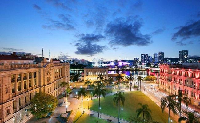 Indoor lot parking on George Street in Brisbane City Queensland