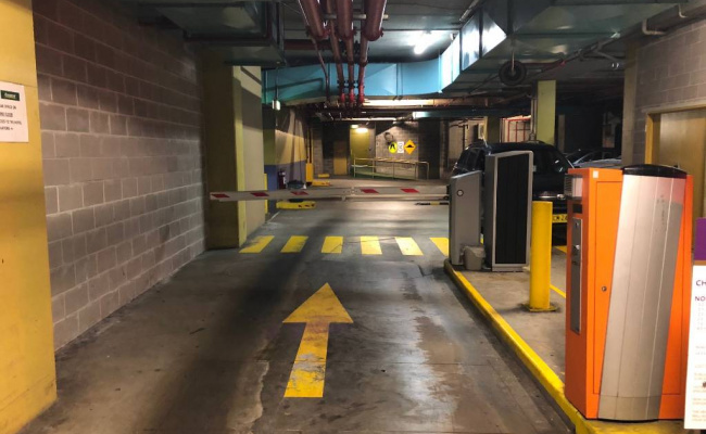 Indoor lot parking on George Street in Chippendale New South Wales
