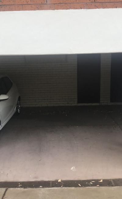 Carport parking on George Street in North Melbourne Victoria