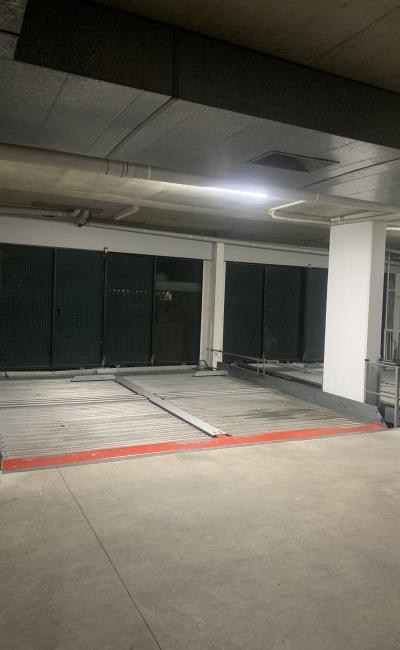 Safe underground remote control STACKER car space in Redfern
