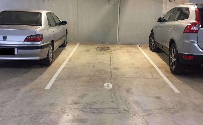 Secure underground parking Redfern