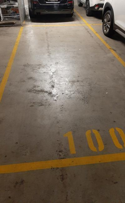 Indoor lot parking on George Street in Sydney NSW