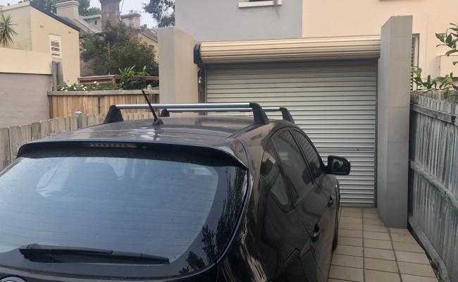 Lock up garage parking on Glenmore Road in Paddington NSW