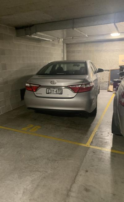 Indoor lot parking on Goulburn Street in Haymarket New South Wales
