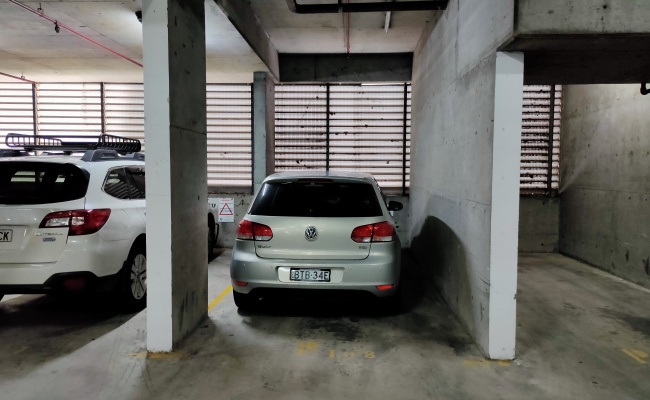 Indoor lot parking on Goulburn Street in Surry Hills New South Wales 2010